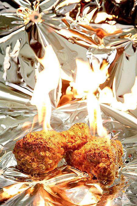 Burning Chicken
