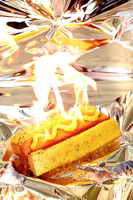 Burning Hot Dog