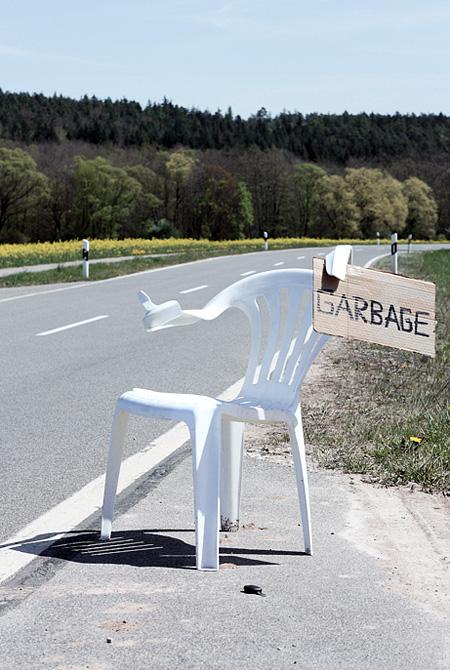 Chair Art by Bert Loeschner