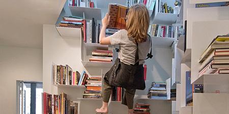 Climbing Bookshelves