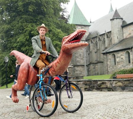 Markus Moestue Dinosaur Bicycle