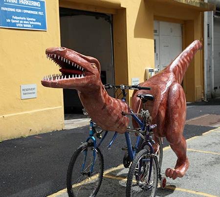 Dinosaur Bicycle