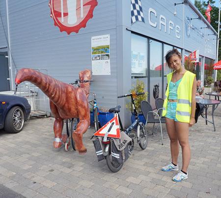 Dinosaur Shaped Bicycle