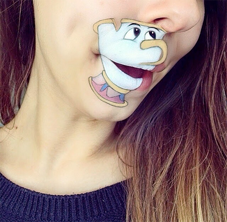 Disney Lip Art