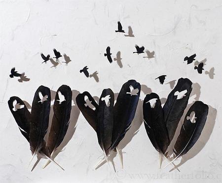 Creative Feather Art