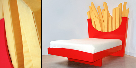 McDonalds Fries Bed
