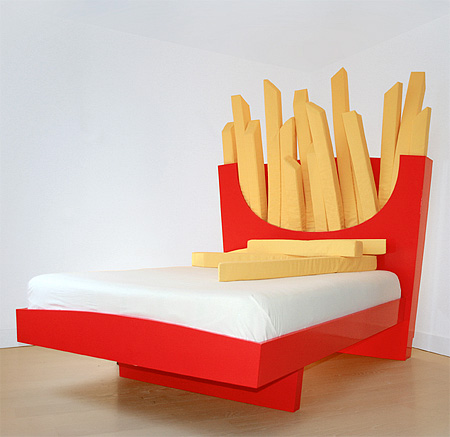 Mcdonald S Fries Bed