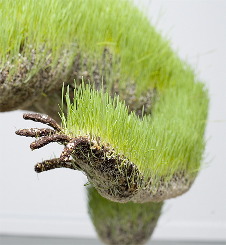 Grass Art by Mathilde Roussels