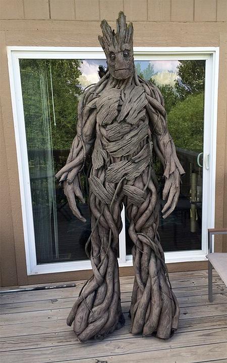 Groot Halloween Costume