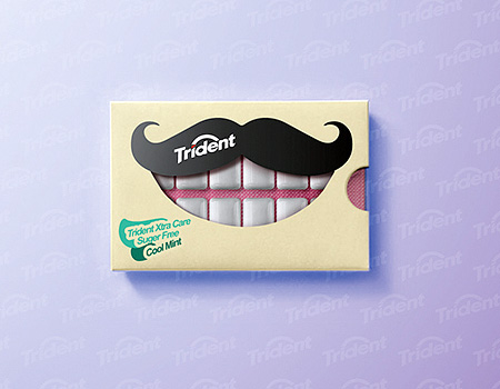 Trident Gum Packaging