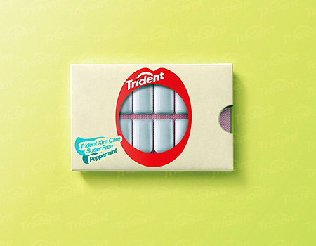 Creative Chewing Gum Packaging