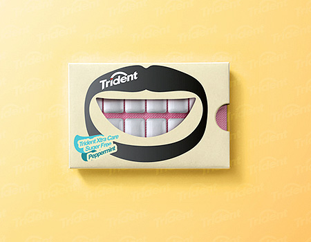 Creative Bubble Gum Packaging