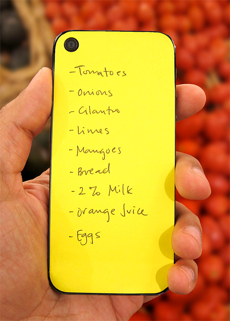 iPhone Post-It Notes