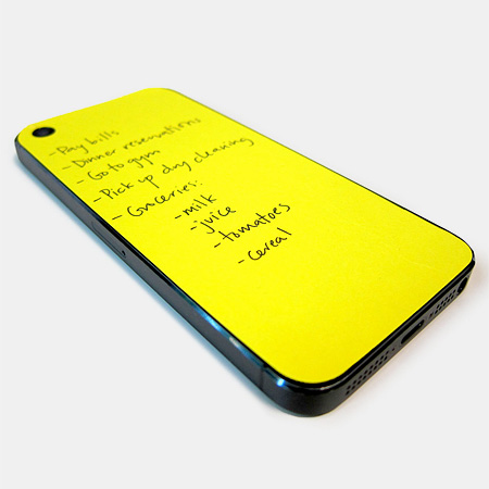 iPhone Notepad