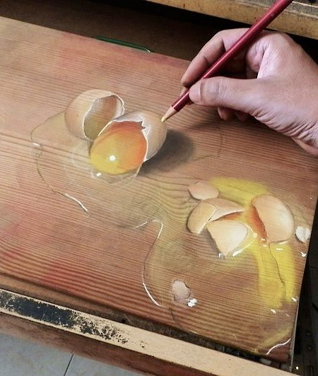 Photorealistic Drawings by Ivan Hoo