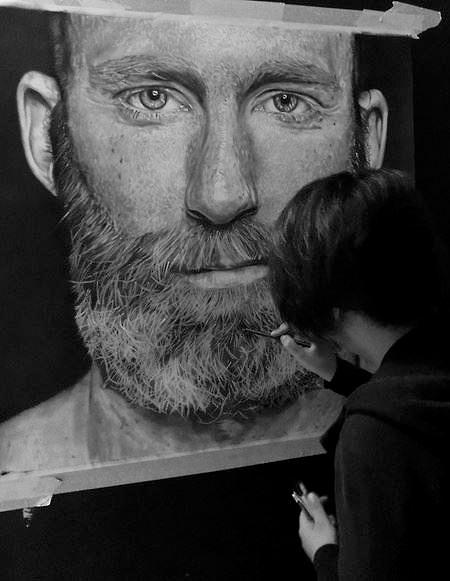 Pencil Drawings by Ivan Hoo