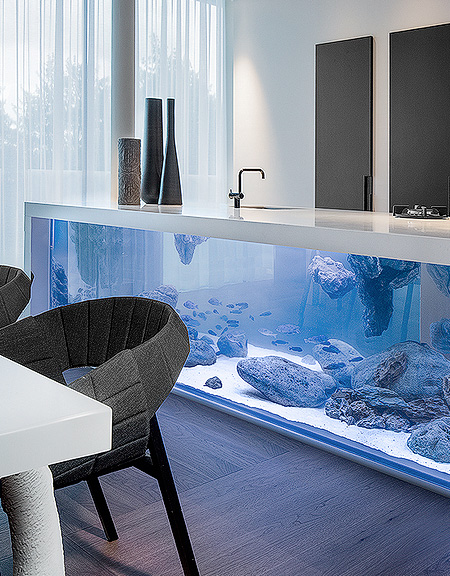Robert Kolenik Kitchen Aquarium