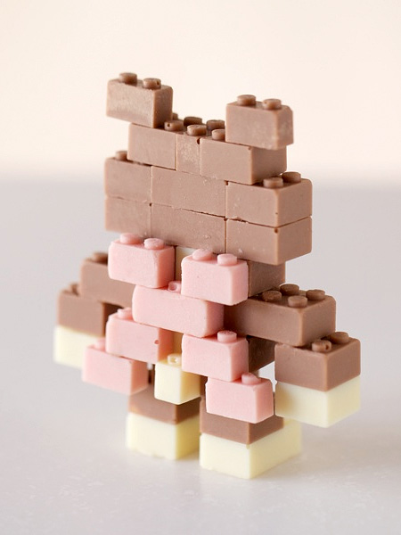 LEGO Made of Chocolate