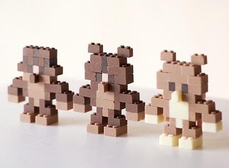 Akihiro Mizuuchi Chocolate LEGO