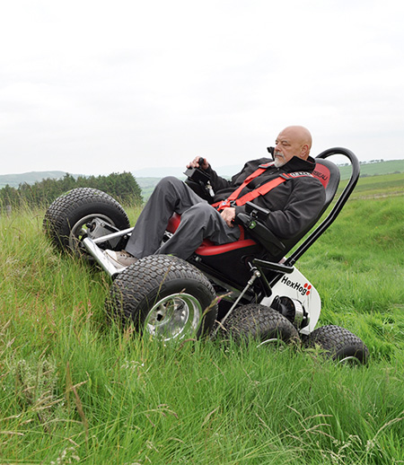 Hexhog All-Terrain Wheelchair