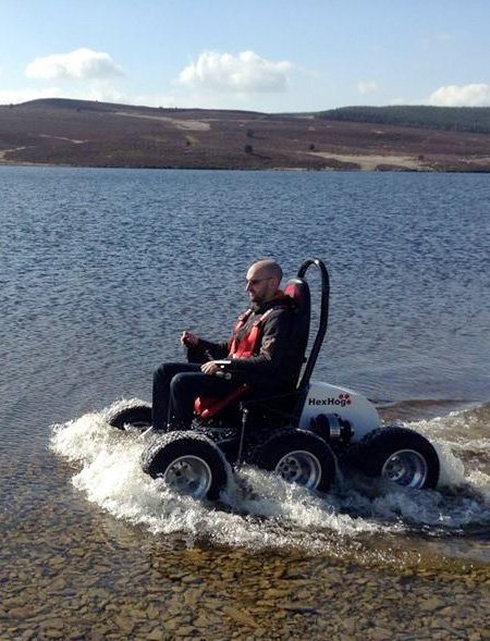 All-Terrain Off-Road Wheelchair