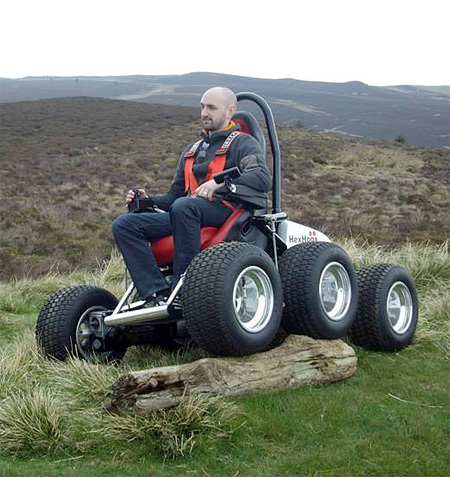 Off-Road Wheelchair