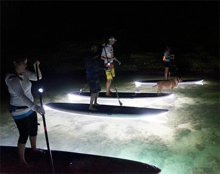 Illuminated Surfboards