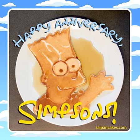 Bart Simpson Pancake