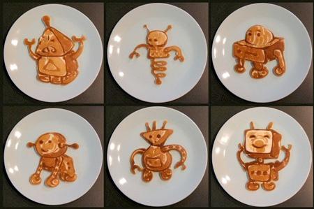 Robots Pancakes