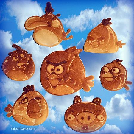 Angry Birds Pancakes