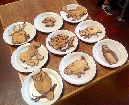 Nathan Shields Pancake Art