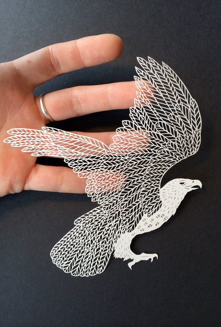 Intricate Paper Art
