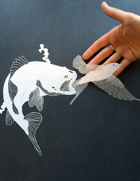 Papercut Art by Maude White