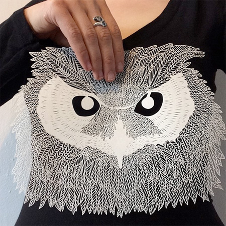 Paper Artwork by Maude White