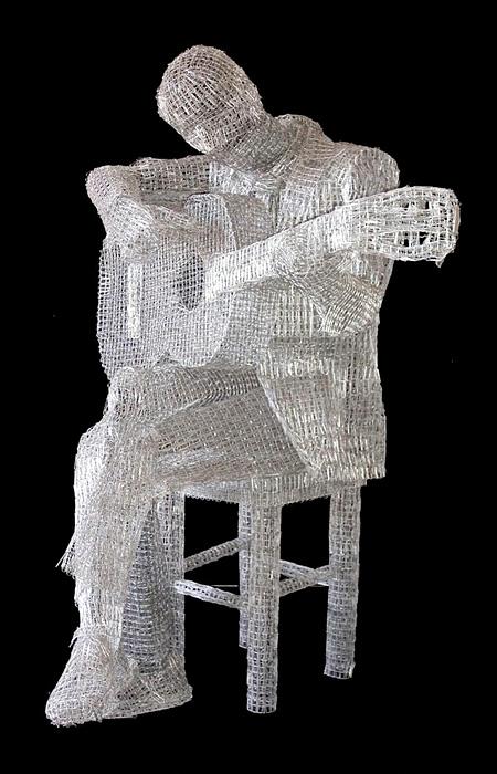 Paperclip Sculpture