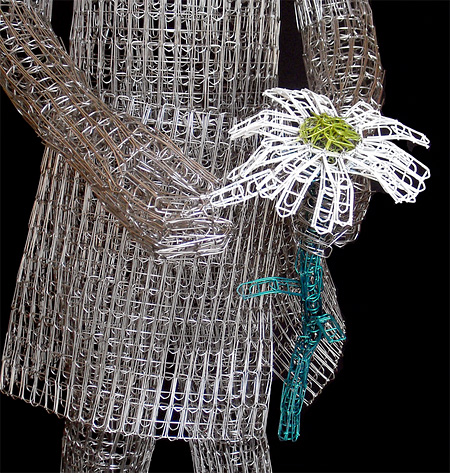 Sculptures Made of Paperclips