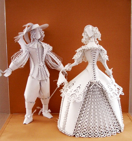 Dolls Made of Paper
