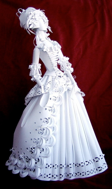 Doll Made of Paper