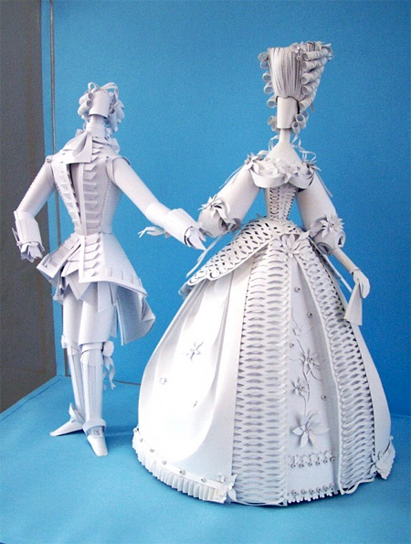 Paper Dolls by Asya Kozina