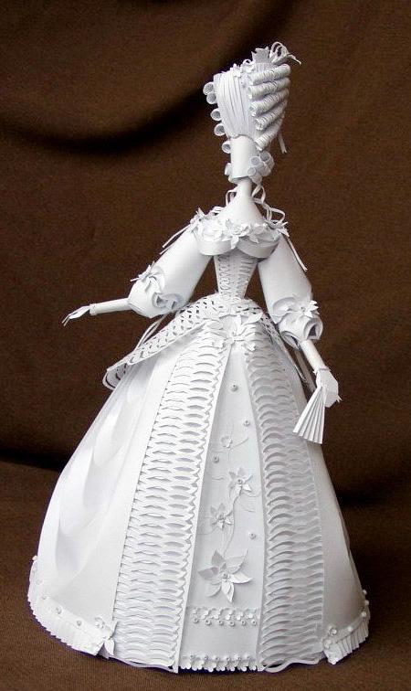 Paper Sculptures by Asya Kozina