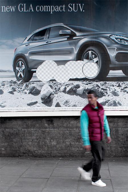 Photoshop Street Art