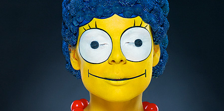 Real Life Marge Simpson