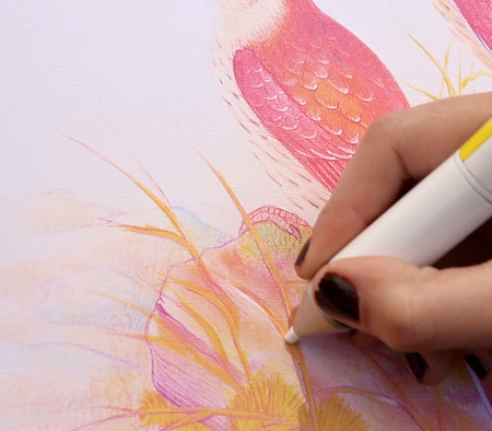 Pen Draws In Any Color