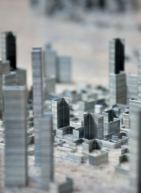 City Made out of Staples