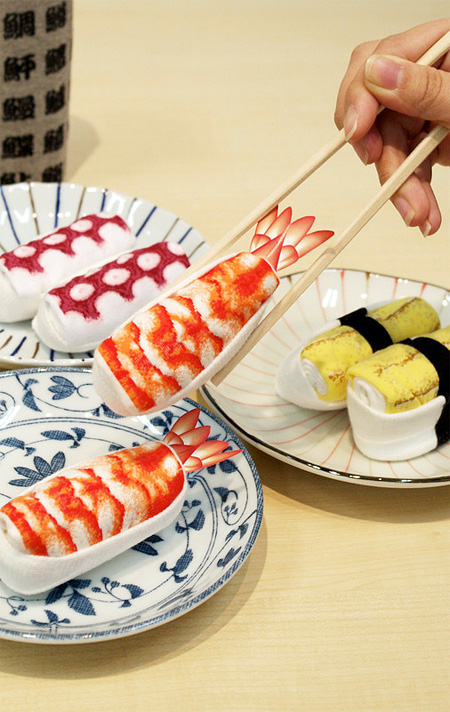 Sushi Inspired Socks