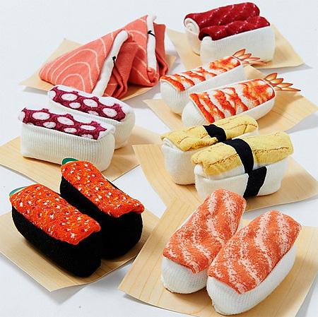 Realistic Sushi Socks