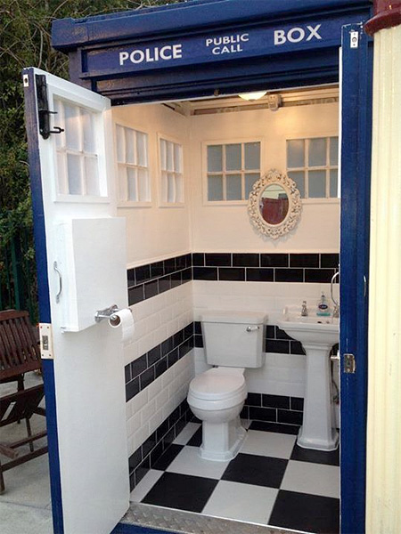 Doctor Who Bathroom