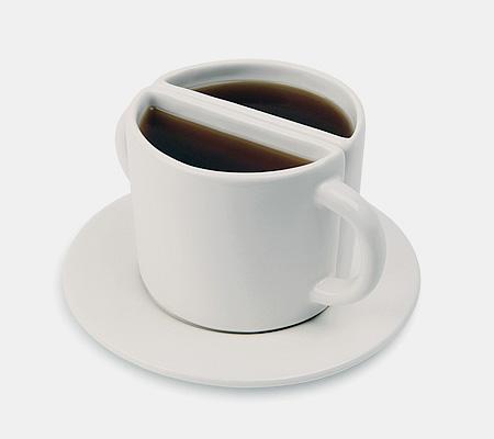 Half and Half Cup