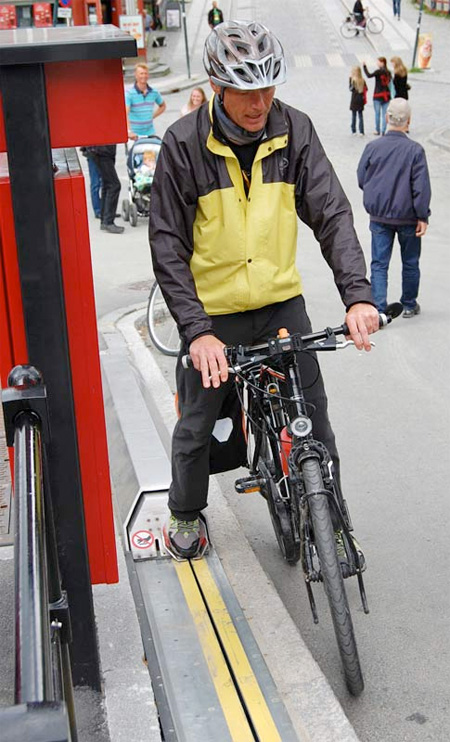 Bicycle Lift in Norway