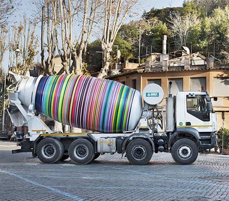 Cement Truck Art
